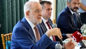 SP Genel Başkanı Karamollaoğlu Manisa'da