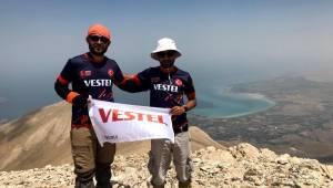 Vestel'in desteğiyle Türkiye'nin zirvesine çıktılar