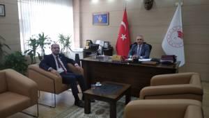 Başkan Seyitoğlu'ndan İl Müdürü Öztürk'e ziyaret
