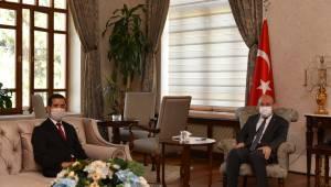 BİK Manisa Şube Müdürü İdris Cirit Vali Karadeniz'e Ziyarette Bulundu