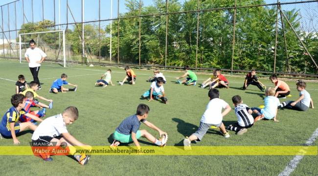 Geleceğin yetenekli futbolcuları keşfediliyor