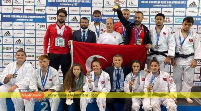 Gençler Karma Judo Takımımız Avrupa ikincisi