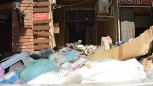 Manisa Merkez'de çöp ev