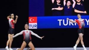 Milli Cimnastikçilerimiz Avrupa Dördüncüsü