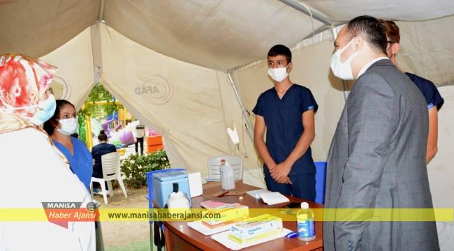 Sağlık Müdürü Erkuş'tan gebelere aşı çağrısı