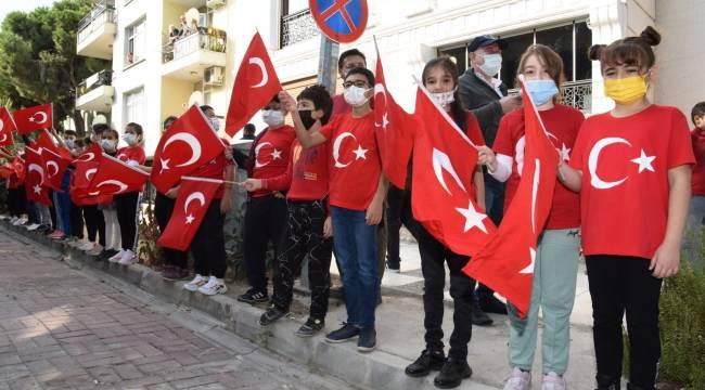 Gazi Mustafa Kemal Atatürk'ün Manisa'ya Gelişinin 96'ncı Yılı Kutlandı