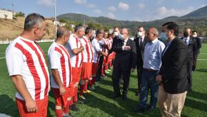 Muhtarlar Günü Dolayısıyla Futbol Maçı Düzenlendi
