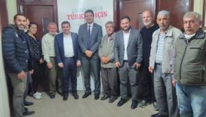 Saadet Partisi Genel Başkan Yardımcısı ve Teşkilat Başkanı Mahmut Arıkan Manisa'da