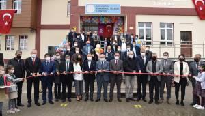 Vali Karadeniz Karaağaçlı TELESET İlkokulu Açılış Törenine Katıldı