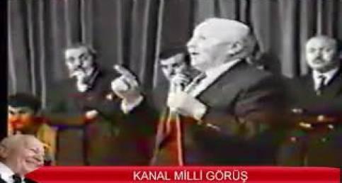 Prof. Dr. Necmettin Erbakan'ın TSK İle İlgili Fikir ve Duyguları! - KANAL MİLLİ GÖRÜŞ